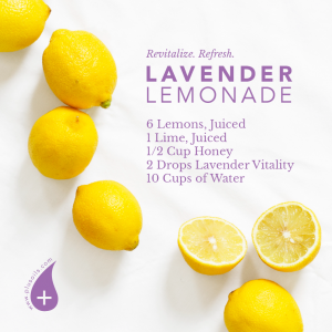 Revitalize & Refresh with Lavender Lemonade